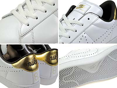 NIKE ZOOM TENNIS CLASSIC HF [FRAGMENTDESIGN|WHITE/GOLD] 写真1
