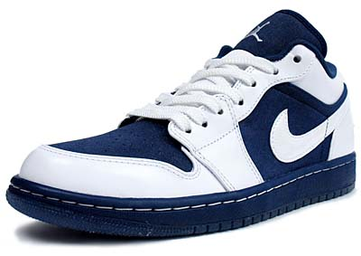 NIKE AIR JORDAN 1 PHAT LOW [WHITE/MIDNIGHT NAVY-VRSTY RED]