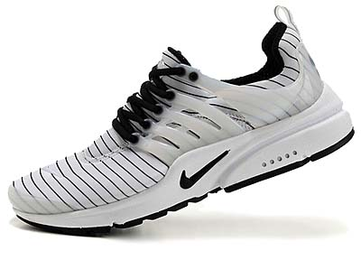 NIKE AIR PRESTO [WHITE/WHITE-BLACK] 写真1