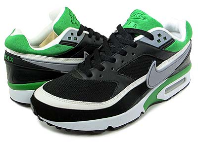 NIKE AIR CLASSIC BW TEXTILE [BLACK/GREEN]