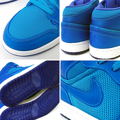 NIKE AIR JORDAN 1 PHAT LS [MRN BLUE/MRN BL-MDM BL-WHITE] 写真1
