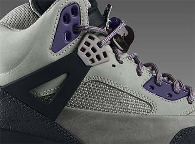 NIKE AIR JORDAN WINTERISED SPIZ'IKE [GRANITE/LIGHT CHARCOAL-INK-BLACK] 375356-002 写真1