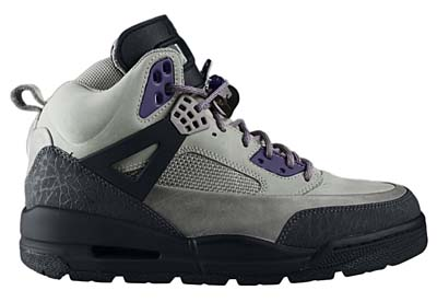 NIKE AIR JORDAN WINTERISED SPIZ'IKE [GRANITE/LIGHT CHARCOAL-INK-BLACK]