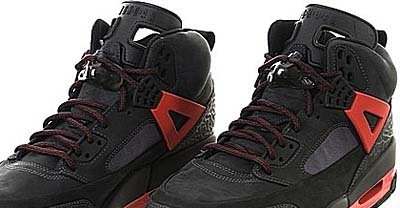 NIKE AIR JORDAN WINTERIZED SPIZ'IKE [DARK SHADOW / BLACK-CHILLING RED] 写真1