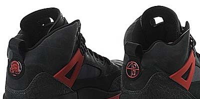 NIKE AIR JORDAN WINTERIZED SPIZ'IKE [DARK SHADOW / BLACK-CHILLING RED] 写真2