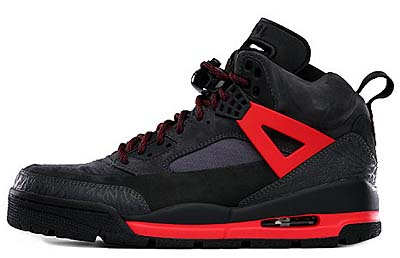NIKE AIR JORDAN WINTERIZED SPIZ'IKE [DARK SHADOW / BLACK-CHILLING RED]