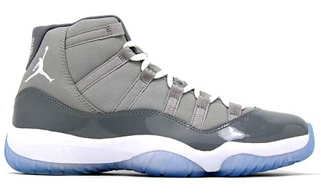 NIKE AIR JORDAN 11 RETRO [MEDIUM GREY/WHITE-COOL GREY]