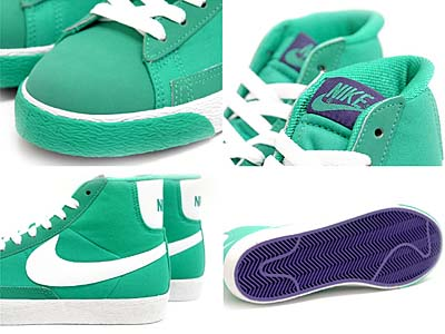 NIKE BLAZER SP [NEW GREEN/WHITE-VARSITY PURPLE] 写真1