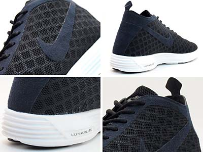 NIKE LUNAR REJUVEN8 MID+ [BLACK/BLACK-METALLIC SUMMIT WHITE] 写真1