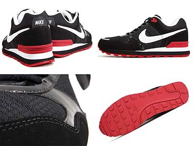 NIKE MS78 LE [BLACK/WHITE-SPORT RED] 386156-005 写真1