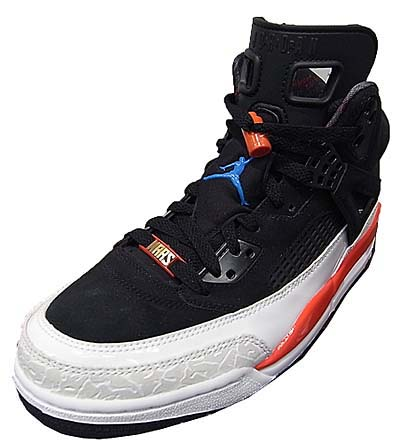 NIKE AIR JORDAN SPIZ'IKE [BLACK/N.BLUE-WHITE-INFRARED] 写真1
