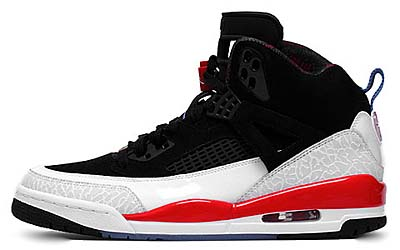 NIKE AIR JORDAN SPIZ'IKE [BLACK/N.BLUE-WHITE-INFRARED]