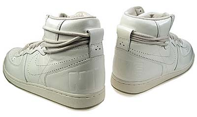 NIKE WMNS TERMINATOR HIGH [METALLIC SUMMIT WHITE] 写真1