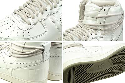 NIKE WMNS TERMINATOR HIGH [METALLIC SUMMIT WHITE] 写真2