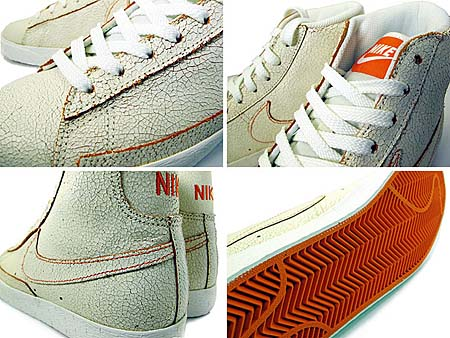 NIKE BLAZER HI [SAIL/ORG BLZ|House of Hoops Exclusive] 392387-180 写真1