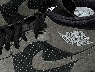 NIKE AIR JORDAN ALPHA 1 [BLACK/REFLECTOR] 写真1