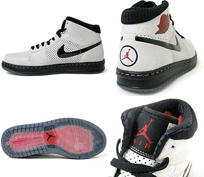 NIKE AIR JORDAN ALPHA 1 [WHITE/BLACK-VARSITY RED] 写真1