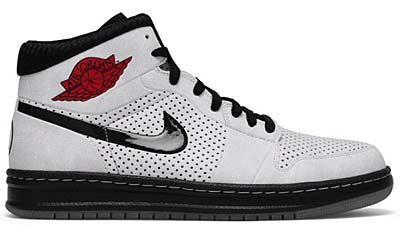 NIKE AIR JORDAN ALPHA 1 [WHITE/BLACK-VARSITY RED]