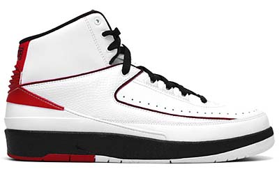 NIKE AIR JORDAN 2 RETRO QF [WHITE/BLACK-VARSITY RED]