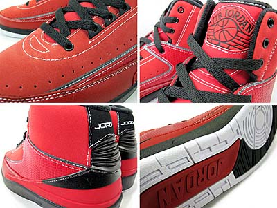 NIKE AIR JORDAN 2 QF [RED|CANDY PACK] 395709-601 写真1