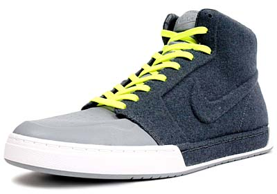 NIKE AIR ROYAL MID VT [DARK GREY/ DARK GREY- STEALTH- VOLT]