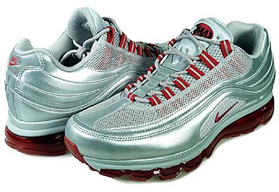 NIKE AIR MAX 24-7 (METALLIC SILVER / VARSITY RED / BLACK) 写真1
