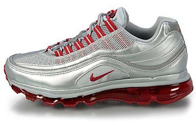 NIKE AIR MAX 24-7 (METALLIC SILVER / VARSITY RED / BLACK)