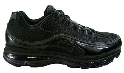 NIKE AIR MAX 24-7 [BLACK/ANTHRACITE-MTLLC SILVER]