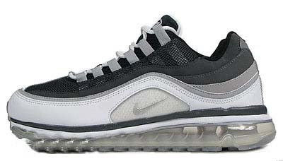 NIKE WMNS AIR MAX 24-7 [BLACK/METALLIC-SILVER/DARK-SHADOW/DARK-GREY]