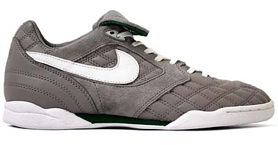 NIKE AIR ZOOM TIEMPO [MEDIUM GREY/WHITE-PINE GREEN] 写真1