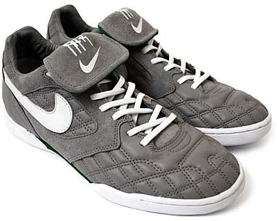 NIKE AIR ZOOM TIEMPO [MEDIUM GREY/WHITE-PINE GREEN]