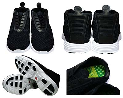 NIKE LUNAR CHUKKA WOVEN+ QK ND [TRUE COLORS PACK|BLACK/WHITE] 写真1