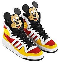 adidas Originals JS Mickey HI [Jeremy Scott x MICKEY MOUSE]