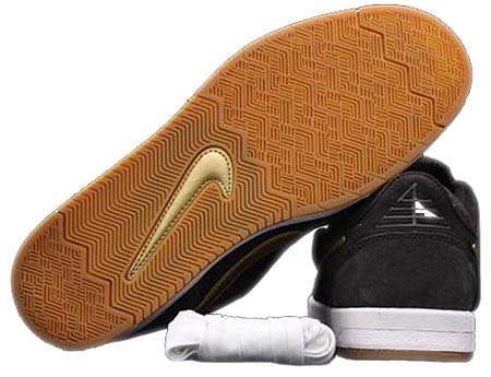 NIKE SB ZOOM PAUL RODRIGUEZ 4 [TAR/METALLIC GOLD] 407437-004 写真2