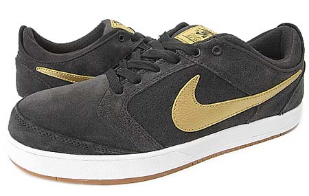 NIKE SB ZOOM PAUL RODRIGUEZ 4 [TAR/METALLIC GOLD]