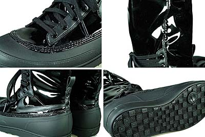 NIKE WMNS STORM WARRIOR HI [BLACK] 写真2