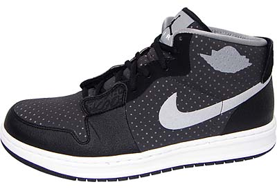 NIKE AIR JORDAN ALPHA 1 OUTDOOR [BLACK/STEALTH-DARK CHARCOAL] 写真1