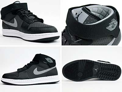NIKE AIR JORDAN ALPHA 1 OUTDOOR [BLACK/STEALTH-DARK CHARCOAL] 写真2