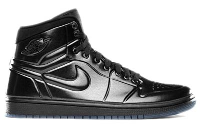 NIKE NIKE AIR JORDAN1 ANODIZED [BLACK/ANTHRACTIE] 414823-002 画像