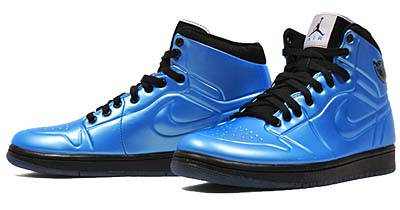 NIKE AIR JORDAN 1 ANODIZED [UNIVERSITY BLUE/BLACK-WHITE] 414823-401 写真1