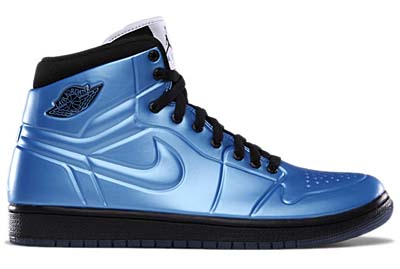NIKE NIKE AIR JORDAN 1 ANODIZED [UNIVERSITY BLUE/BLACK-WHITE] 414823-401 画像