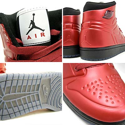 NIKE AIR JORDAN 1 ANODIZED [VARSITY RED/BLACK-WHITE] 414823-601 写真1