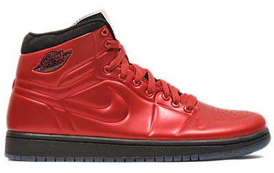 NIKE AIR JORDAN 1 ANODIZED [VARSITY RED/BLACK-WHITE]