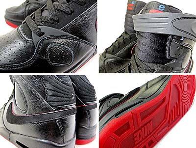 NIKE AIR PR1 [BLACK/BLACK-VARSITY RED] 414974-001 写真1