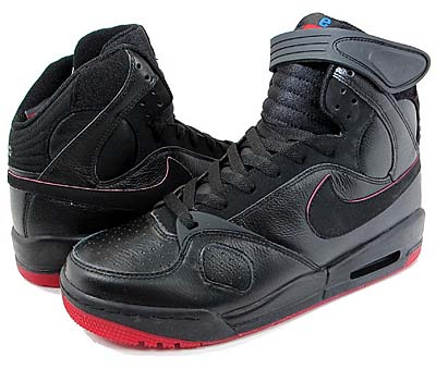 NIKE AIR PR1 [BLACK/BLACK-VARSITY RED]