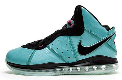 NIKE LEBRON 8 [PRE-HEAT SOUTH BEACH] 417098-401 写真1