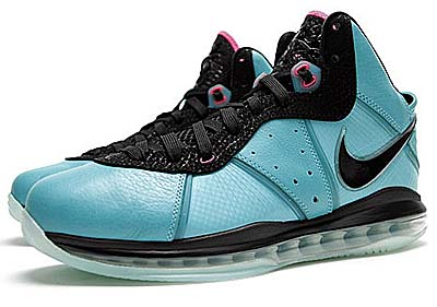 NIKE LEBRON 8 [PRE-HEAT SOUTH BEACH]