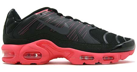 NIKE AIR MAX PLUS 1.5 [BLACK/DARK GREY/SOLAR RED] 426882-001 写真1