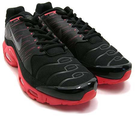 NIKE AIR MAX PLUS 1.5 [BLACK/DARK GREY/SOLAR RED]