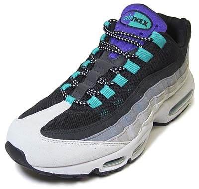 NIKE AIR MAX 95 [NEUTRAL GREY/VARSITY PUEPLE-DARK CHACOAL-COOL GREY]
